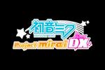 Hatsune Miku Project MIRAI DX Logo black