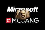 Microsoft Mojang Logo black