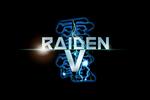 Raiden V Logo black