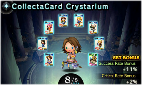 Theatrhythm Final Fantasy Curtain Call REVIEW CollectaCards 001