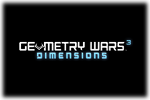 Geometry Wars 3 Dimensions Logo black