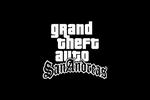 Grand Theft Auto San Andreas Logo black