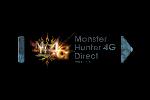 Monster Hunter 4G Direct Logo black