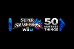 Super Smash Bros for Wii U Direct Logo black