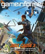 Game Informer - december 2014 - Just Cause 3 cover Logo