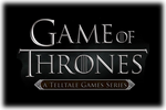 Game of Thrones A Telltale Games Series Logo black