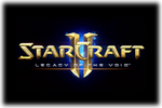 StarCraft II - Legacy of the Void Logo black