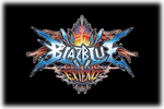 BlazBlue Chrono Phantasma Extend Logo black