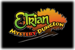 Etrian Mystery Dungeon Logo black