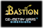Geometry Wars 3 Dimensions - Bastion Logo black