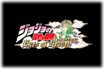 JoJo's Bizarre Adventure Eyes of Heaven Logo black