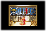 One Piece Pirate Warriors 3 Logo USA black