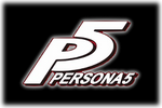Persona 5 Logo black