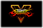 Street Fighter V Logo black