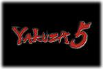 Yakuza 5 Logo black