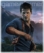 Game Informer febrero 2015 Uncharted 4 - A Thief's End Logo