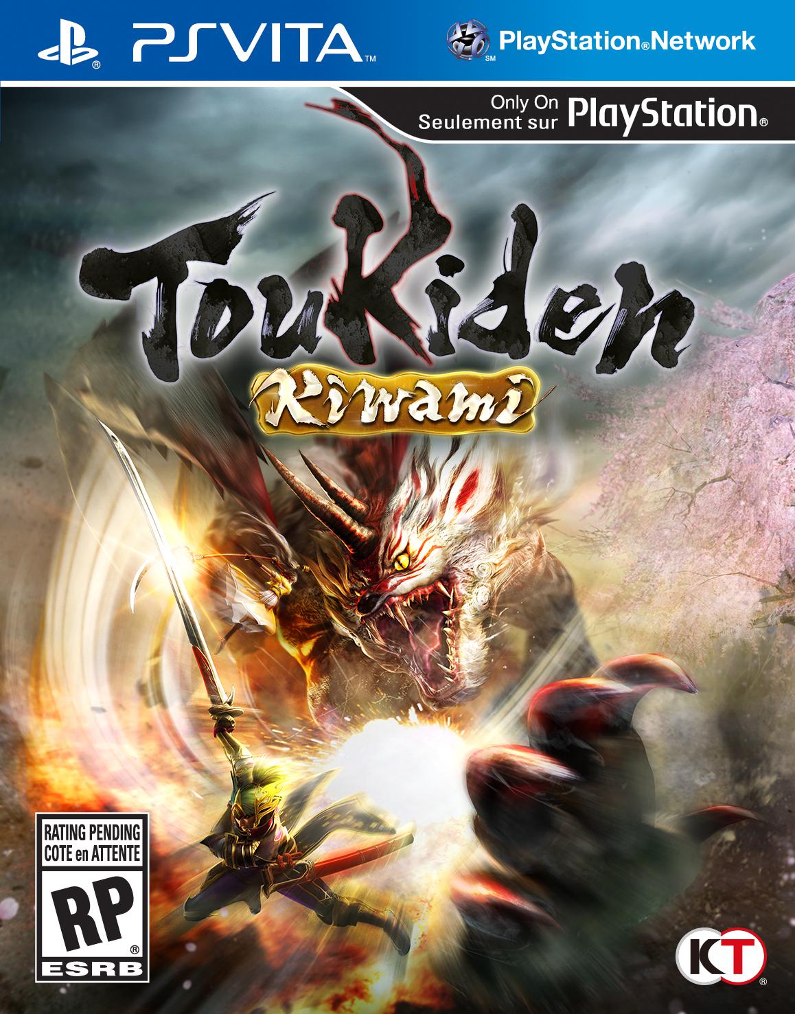 Toukiden Kiwami cover PS Vita USA