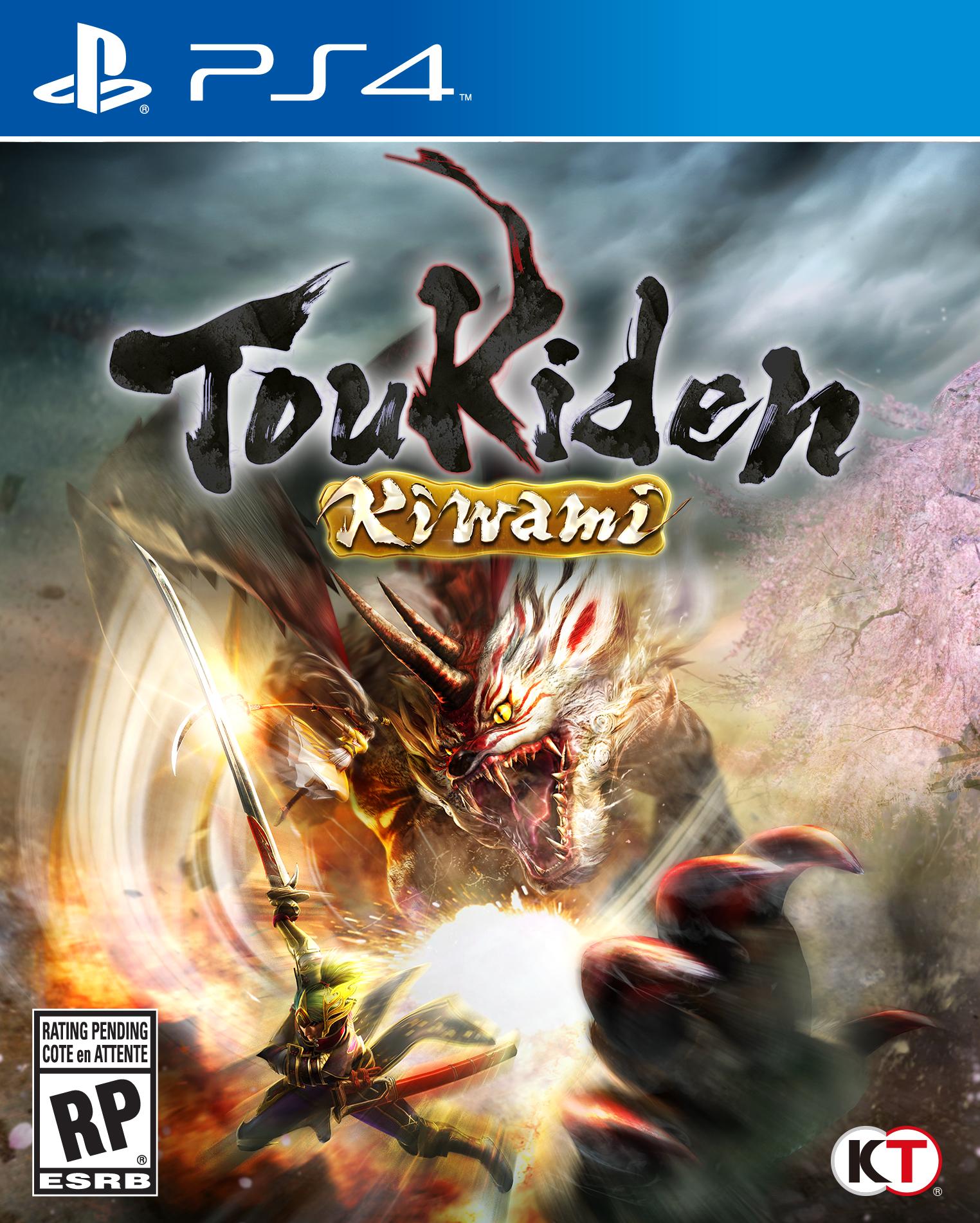 Toukiden Kiwami cover PS4 USA