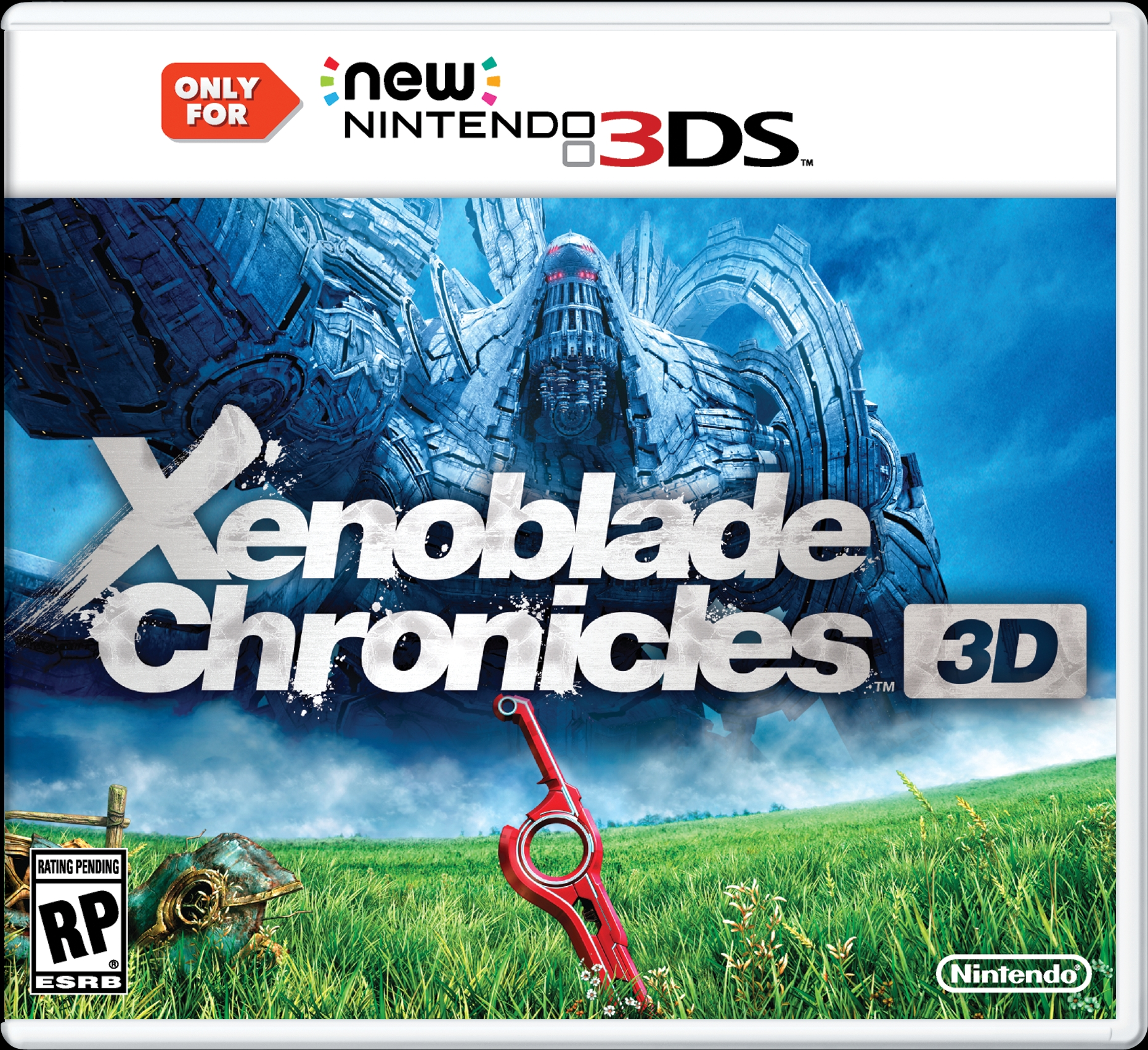 Xenoblade Chronicles 3D cover N3D USA