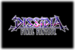 Dissidia Final Fantasy Arcade Logo black