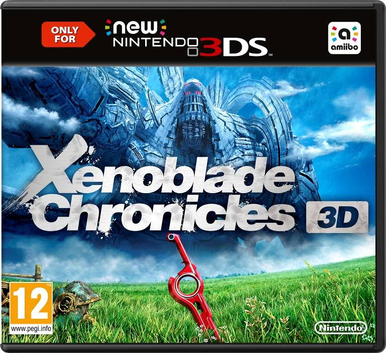 Xenoblade Chronicles 3D cpver N3DS EURO