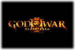 God of War III Remastered Logo black