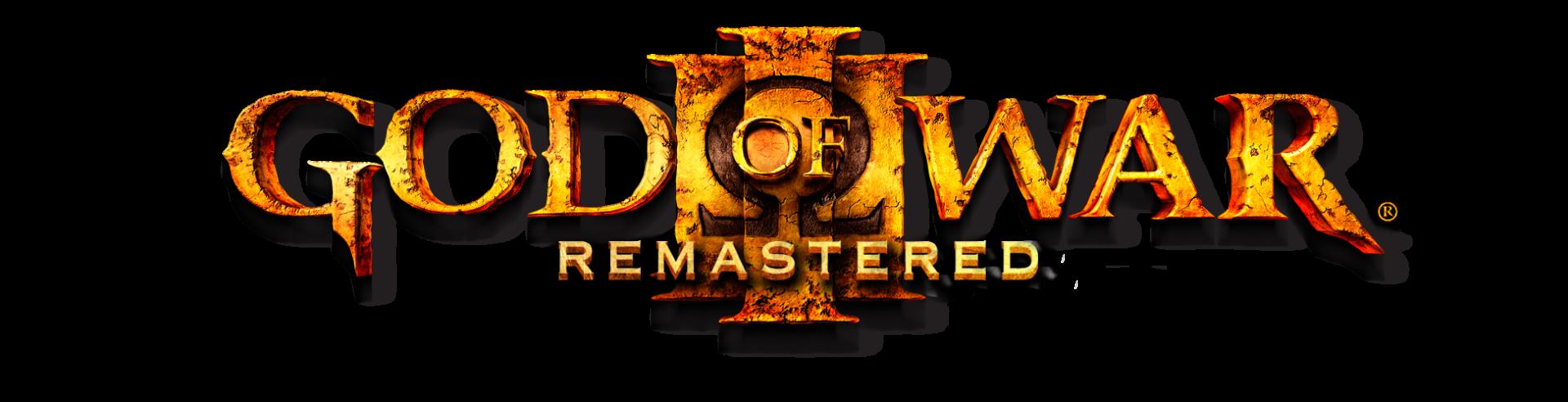 God of War III Remastered Logo