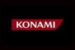 Konami Logo black