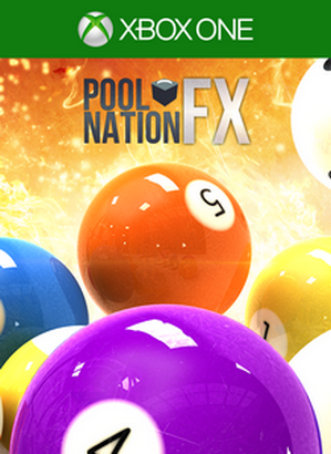 Pool Nation FX cover Xbox One USA