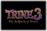 Trine 3 The Artifacts of Power Logo black