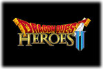 Dragon Quest Heroes II Logo black