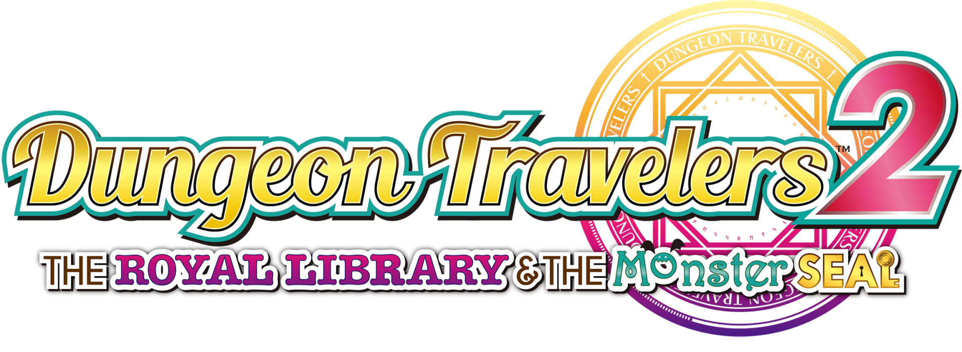 Dungeon Travelers 2 The Royal Library & the Monster Seal Logo