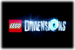 LEGO Dimensions Logo black
