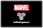 MARVEL x Telltale Games Logo black