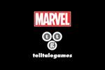 MARVEL x Telltale Games Logo black
