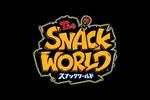 The Snack World logo black