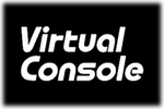 Virtual Console Logo black