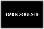 Dark Souls IIII custom Logo black