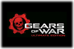 Gears of War Ultimate Edition Logo black
