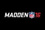 Madden NFL 16 Logo black
