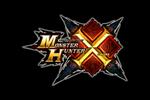 Monster Hunter X Logo black