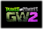 Plants vs Zombies Garden Warfare 2 Logo black