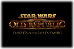 Star Wars The Old Republic – Knights of the Fallen Empire Logo black