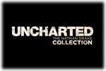 Uncharted The Nathan Drake Collection Logo black