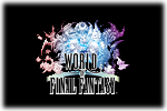 World of Final Fantasy Logo black