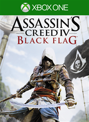 Assassin's Creed IV Black Flag cover Xbox Live