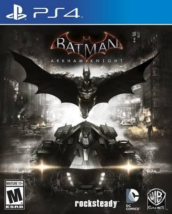 Batman Arkham Knight cover PS4 USA