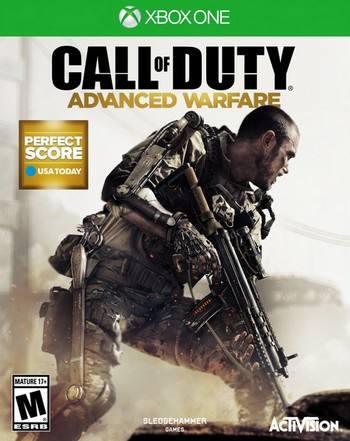 Call of Duty Advance Warfare cover XBO USA