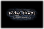 Fatal Frame Maiden of Black Water Logo black
