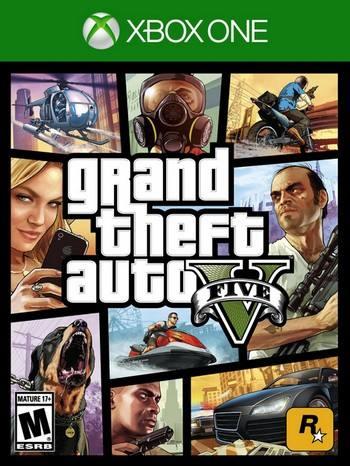 Grand Theft Auto V cover XBO USA